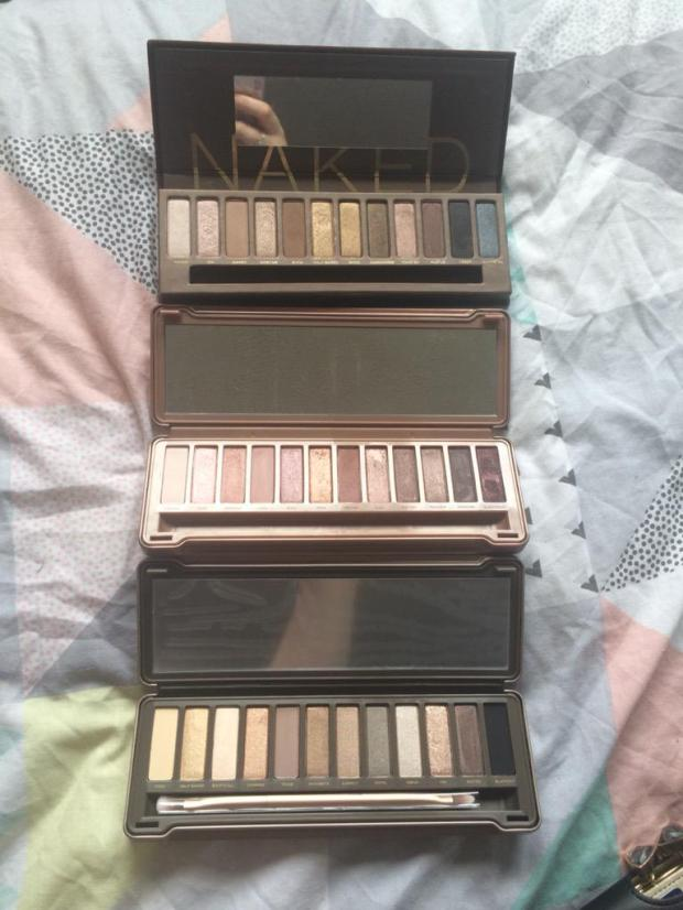 Naked, Naked 2 & Naked 3.
